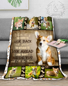 Hayooo Blanket Pembroke Welsh Corgi Dogs Beside You