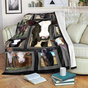 Hayooo Cow Blanket Cute Cows