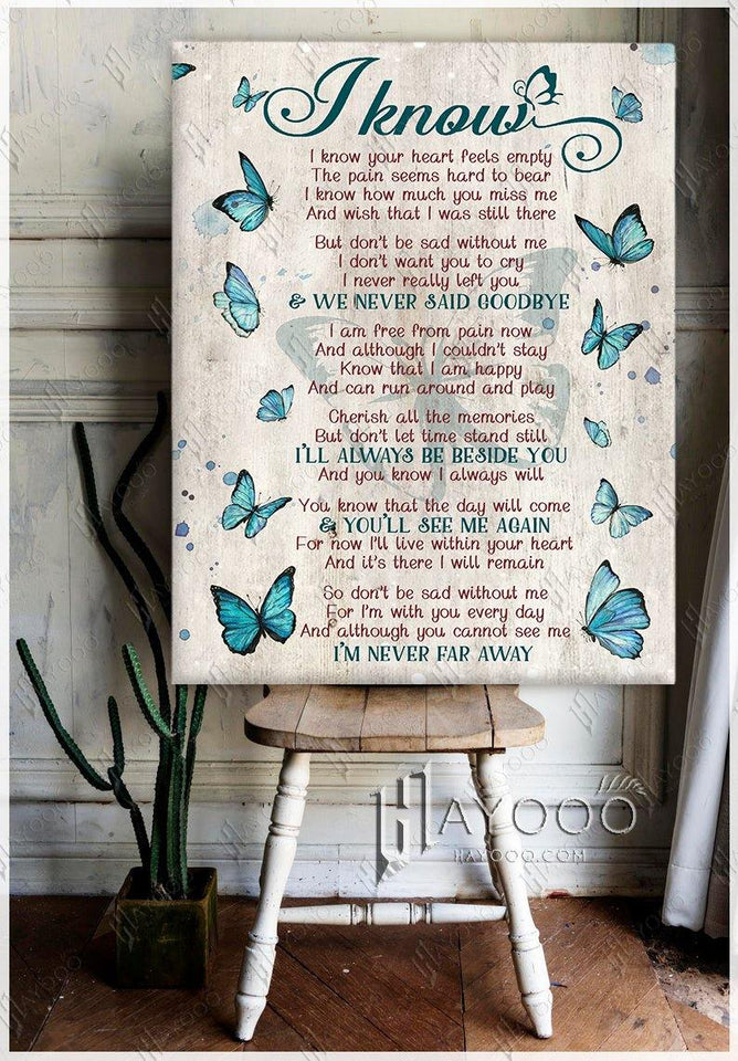 Butterfly Canvas I Know Ver.2 - Hayooo Shop