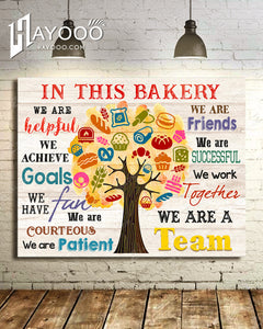 In This Bakery Canvas We Are A Team Ver.4