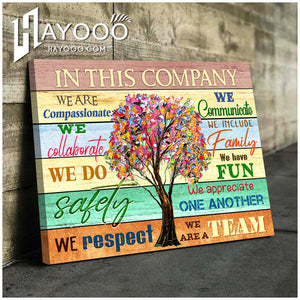 IN THIS COMPANY - Canvas - We are compassionate Ver.2