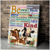Cow - Canvas - Be kind