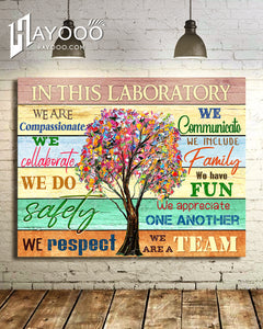 In This Laboratory Canvas We Are Compassionate Ver.2