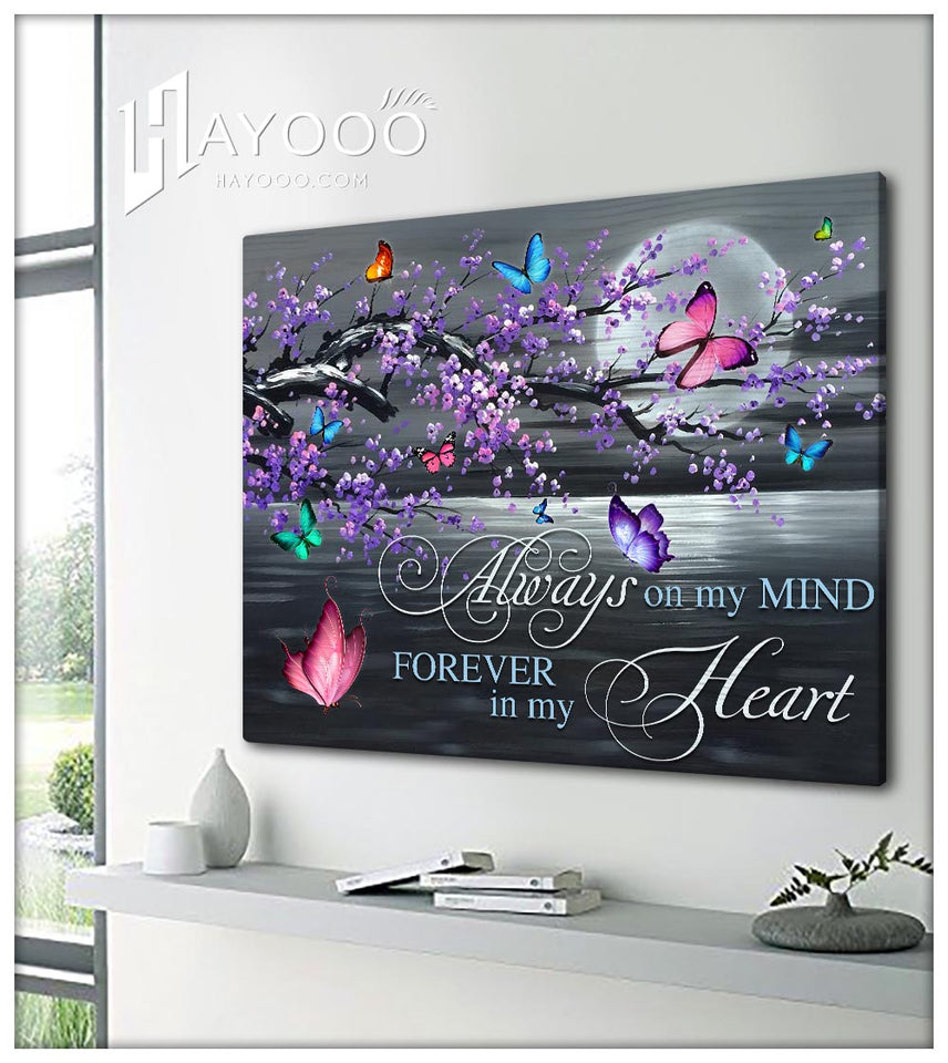 Butterfly - Canvas - Always on my mind