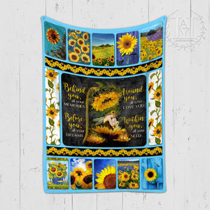 Hayooo Sunflower Blanket Hippie Within You, All You Need