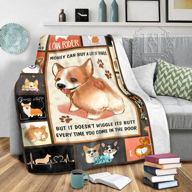 Hayooo Blanket Corgi Money Can Buy A Lot Of Things