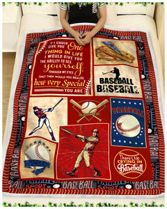Hayooo Baseball Blanket Best Gift For Your Son How Very Special You Are