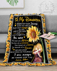 Hayooo Blanket To my daughter You have the soul