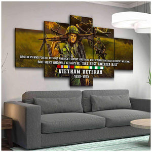 CANVAS - Vietnam Veteran (5 pieces) - yenyenstore
