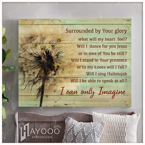 Canvas - Dandelion - Will I Dance With You Jesus