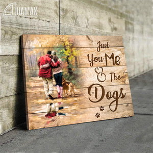 GL - Canvas - Just You, Me & The Dogs