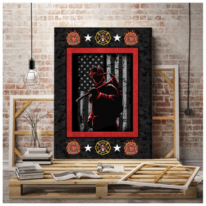 FIREFIGHTER CANVAS - Firefighter
