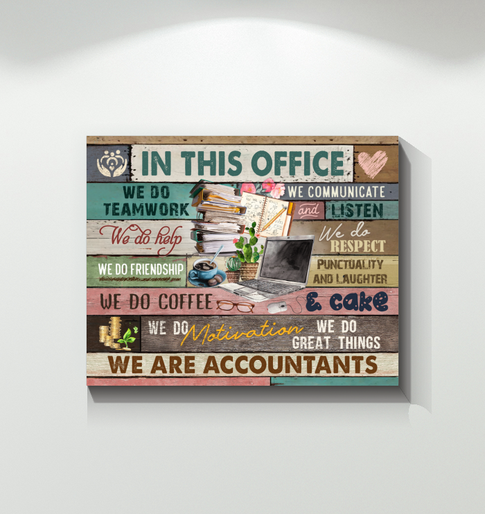 Canvas - Accountant - In This Office
