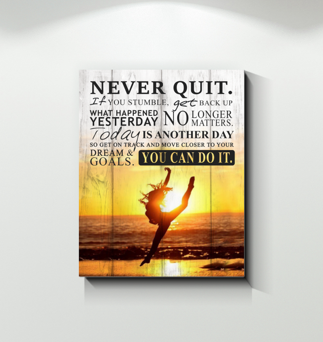 Canvas  - Never Quit