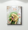 Canvas Golden Retriever Best Friend
