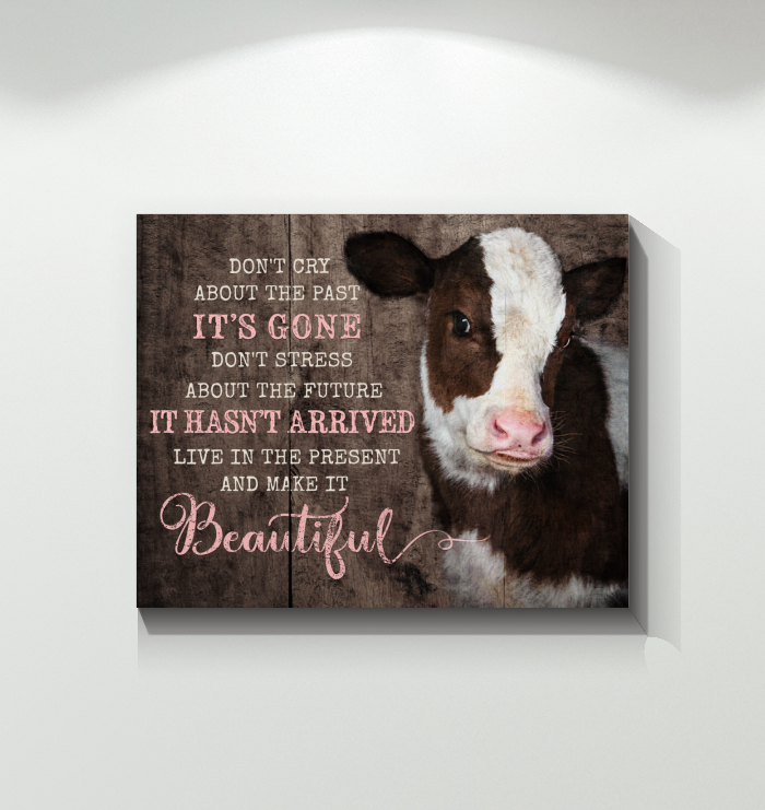 Cow Canvas Make It Beautiful Ver2