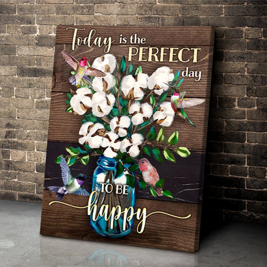 Hayooo Top 5 Beautiful Hummingbird Cotton Flower Canvases Art To Be Happy