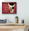 Donkey - Canvas - Every Day Is A New Beginning