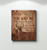 Deer - Canvas - You And Me Ver2