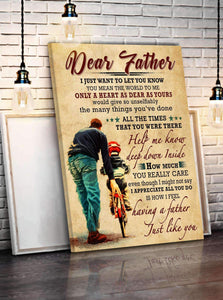 CANVAS - Dear Father - i just want to let you know - yenyenstore