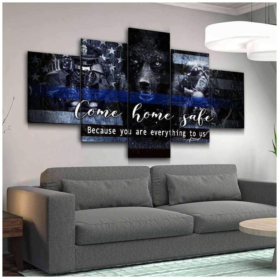 CANVAS - POLICE - Come Home Safe (5 Pieces) - yenyenstore