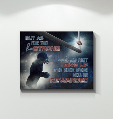 Football - Canvas - For Your Work Will Be Rewarded
