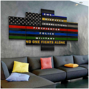 CANVAS - No One Fights Alone (5 pieces) - yenyenstore