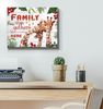 Giraffe Canvas Family Gathers Here