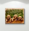 Canvas Golden Retriever Life Is Short