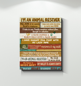CANVAS - Rescue - I am an rescuer