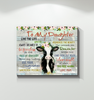 Cow Canvas Live The Life You'Ve Always Dreamed Of