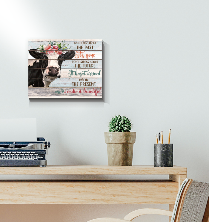 Cow - Canvas - Make It Beautiful