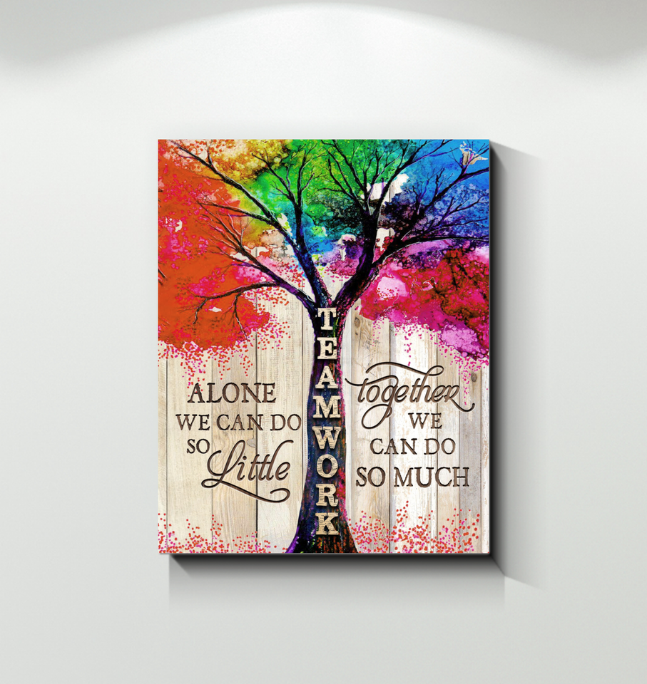 Canvas Teamwork Tree - Hayooo Shop