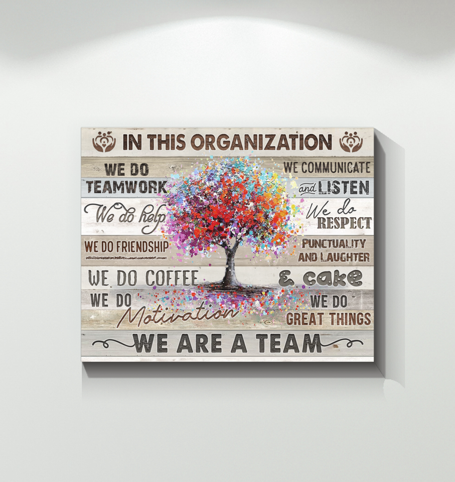 Canvas In This Organization