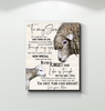 Sheep Canvas To My Son (Mom) You Have Your Own Matches - Hayooo Shop