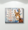 Donkey Canvas We Only Get One Life
