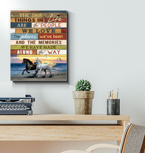 Canvas - Horse - The Best Things In Life
