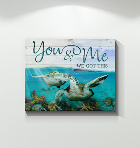 Canvas - Turtle - You&Me ver3