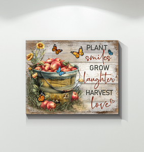 Canvas Farm Harvest Love