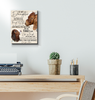 Boer Goat Canvas To My Daughter You Have Your Own Matches - Hayooo Shop