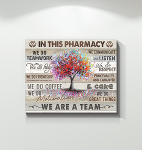 Canvas In This Pharmacy