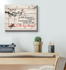 Canvas Cardinal Enjoy The Little Things... - Hayooo Shop