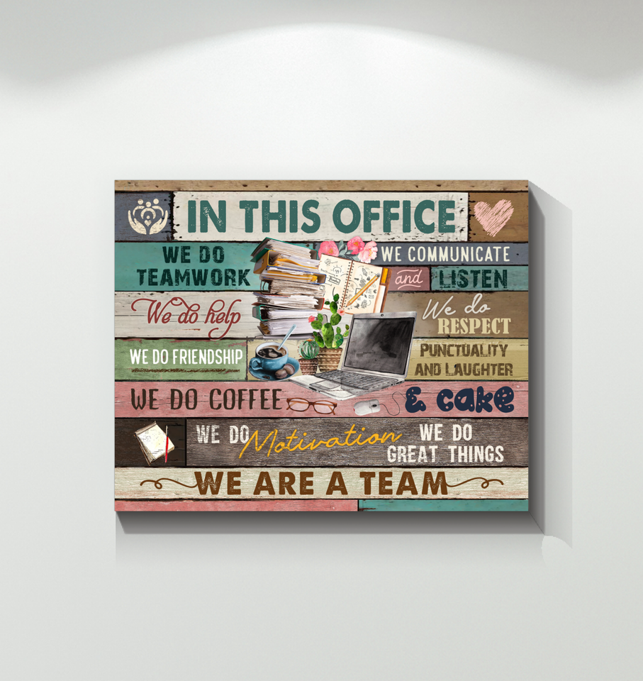 Canvas In This Office - Hayooo Shop