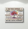 Canvas Social Worker In This Office