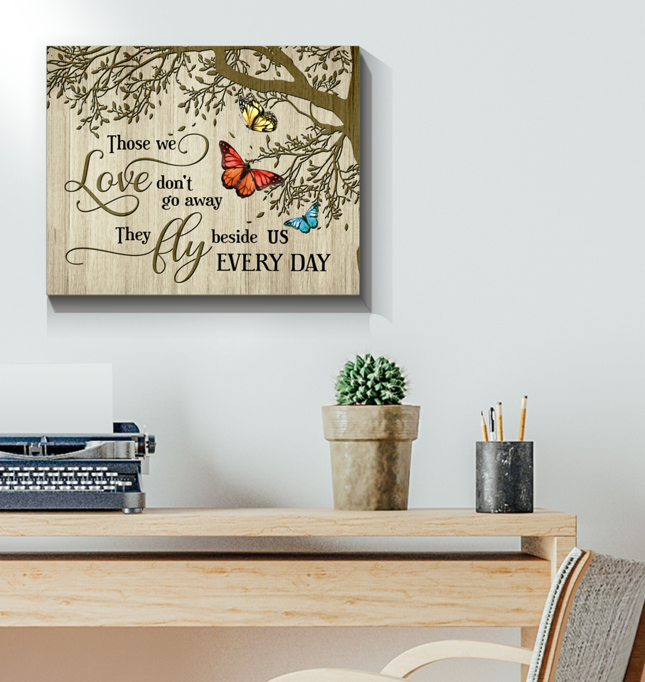 Canvas Butterfly Those We Love