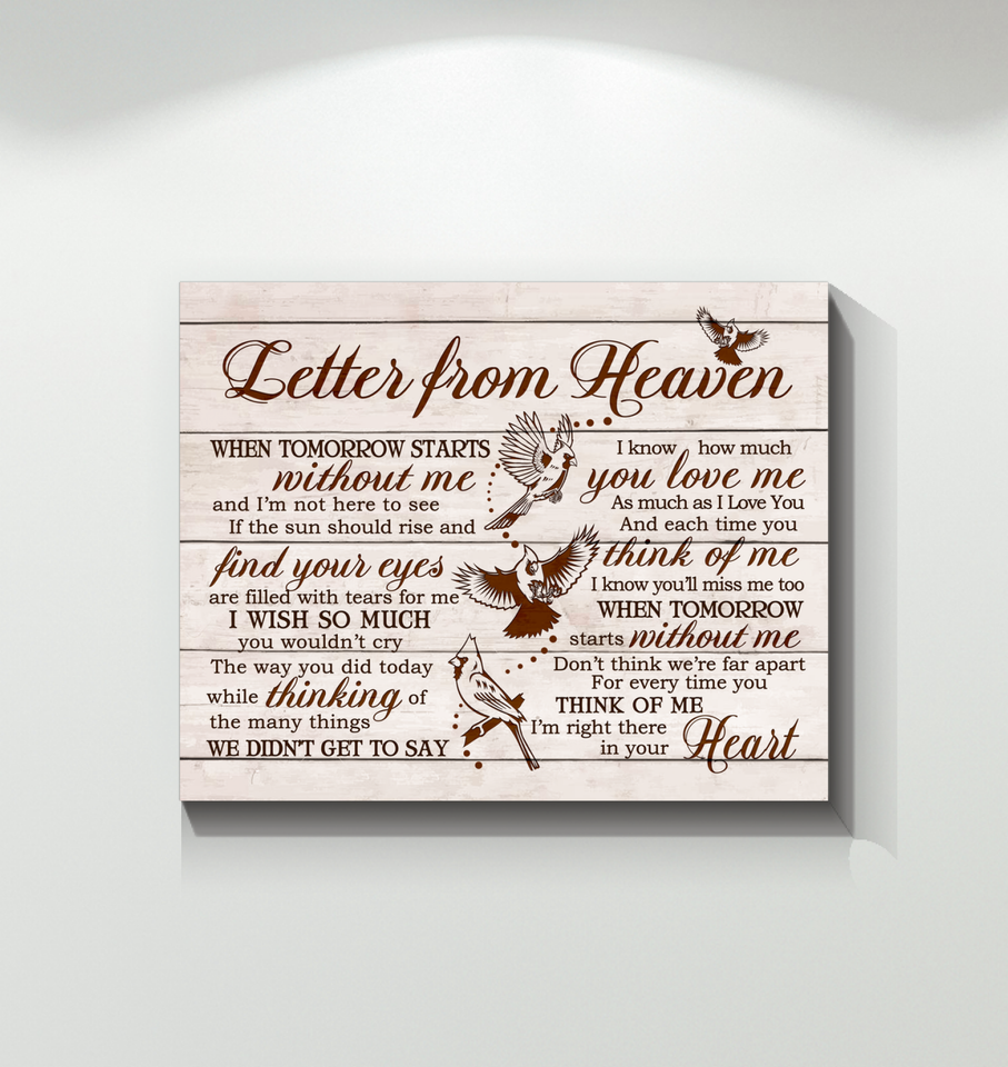 HAY - Canvas - Cardinal - Letter from heaven