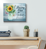 Canvas Dragonfly Amazing Grace