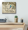 Canvas Hummingbird Those We Love