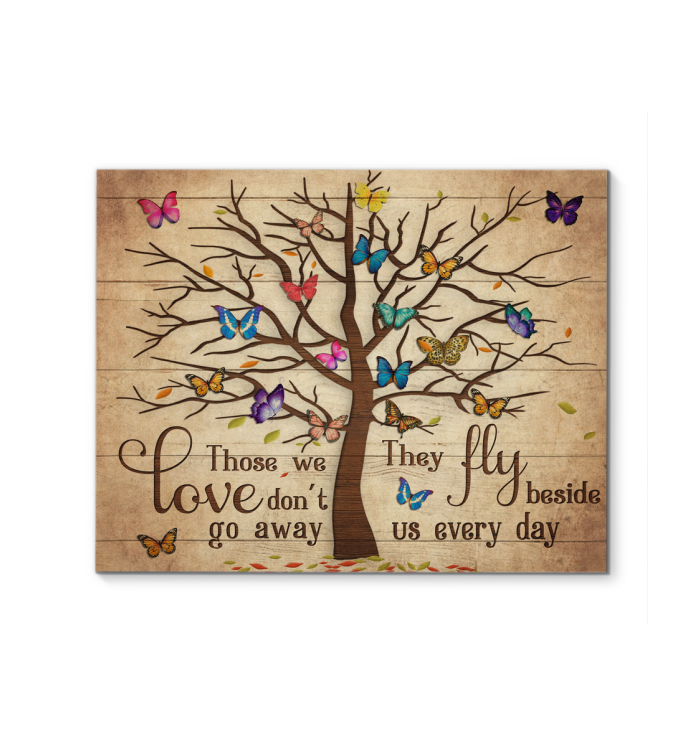 Glph Butterfly Canvas Those We Love