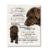Chocolate Labs - Canvas - To My Daughter (Mom) - You Have Your Own Matches